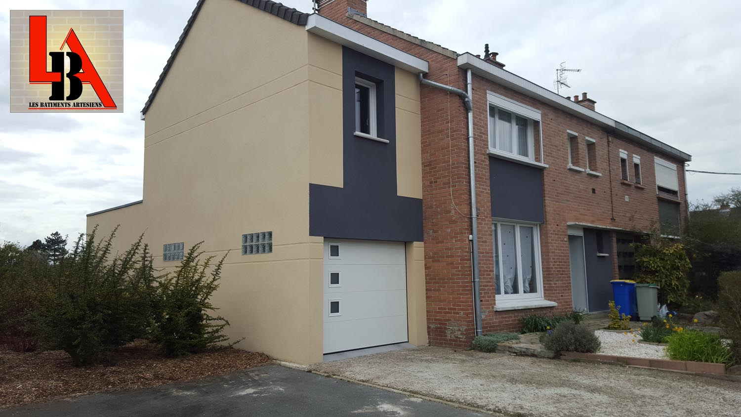 Les b timents art siens extensions maisons neuves for Travaux extension maison